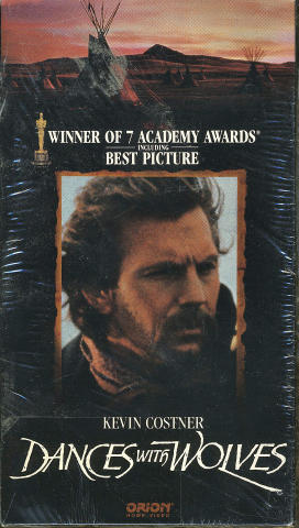 Dances With Wolves VHS