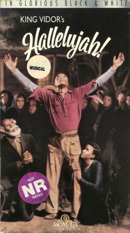 King Vidor's Hallelujah! VHS