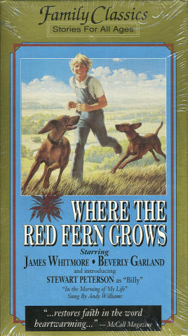 Where The Red Fern Grows VHS