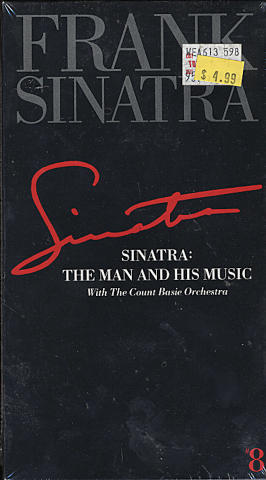 Sinatra: The Man and His Music: With The Count Basie Orchestra VHS