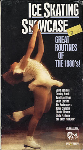 Ice Skating Showcase: Great Routines Of The 1980's VHS