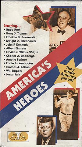 America's Heroes VHS