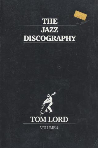 The Jazz Discography - Vol. 4: Catherine to Dagradi