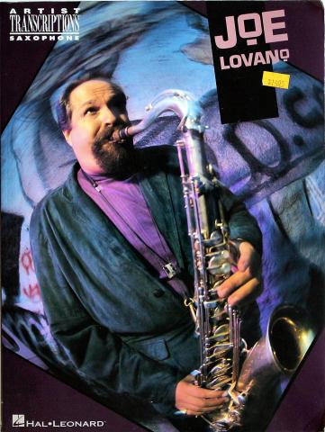 Joe Lovano: Artist Transcriptions Saxophone