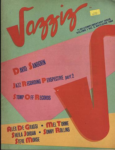 Jazziz Vol. 1 No. 3
