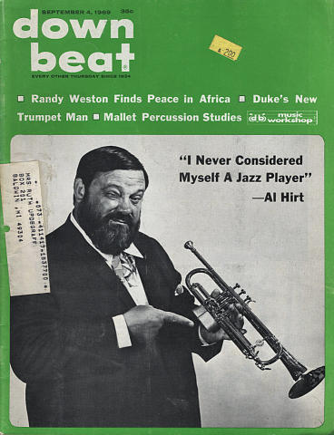 Down Beat Magazine September 4, 1969