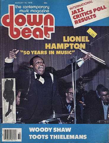 Down Beat Magazine August 10, 1978