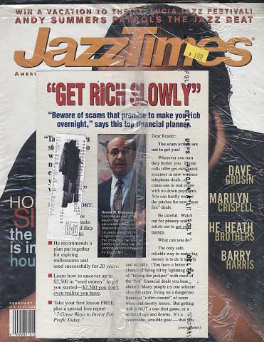 JazzTimes Vol. 28 No. 1