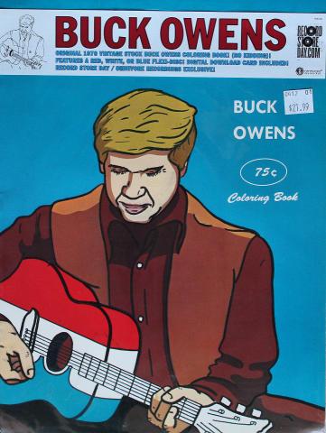 Buck Owens Coloring Book