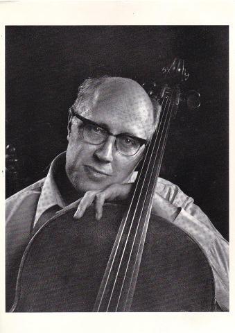 Mstislav Rostropovich Postcard