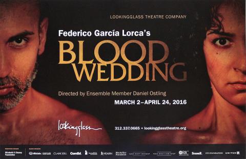 Blood Wedding Poster