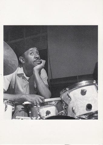 Philly Joe Jones Postcard