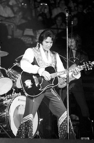 Elvis Presley Fine Art Print