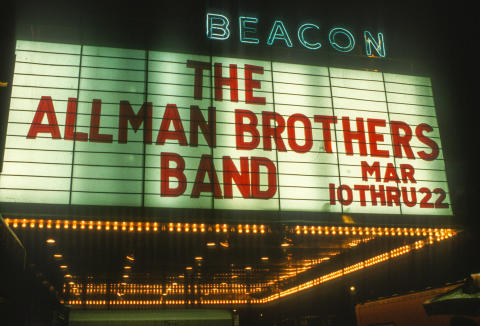 The Allman Brothers Band Fine Art Print