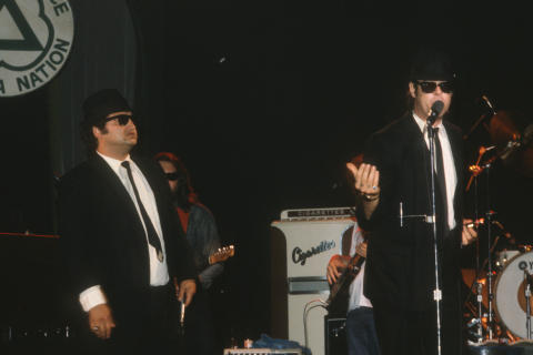The Blues Brothers Fine Art Print