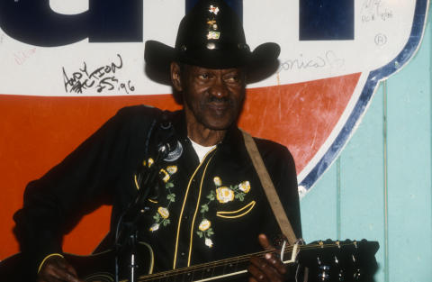 "Clarence ""Gatemouth"" Brown Fine Art Print"