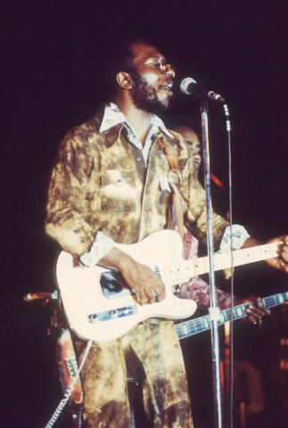 Curtis Mayfield Fine Art Print