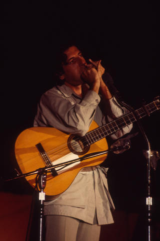 Leonard Cohen Fine Art Print