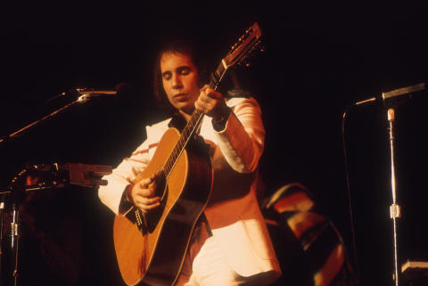 Paul Simon Fine Art Print