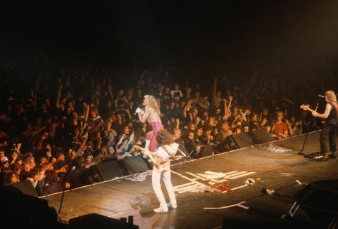 Van Halen Fine Art Print
