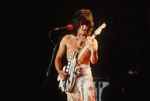 Eddie Van Halen Fine Art Print