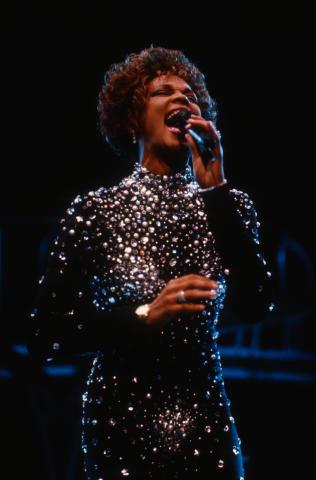 Whitney Houston Fine Art Print