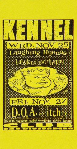 Laughing Hyenas Handbill
