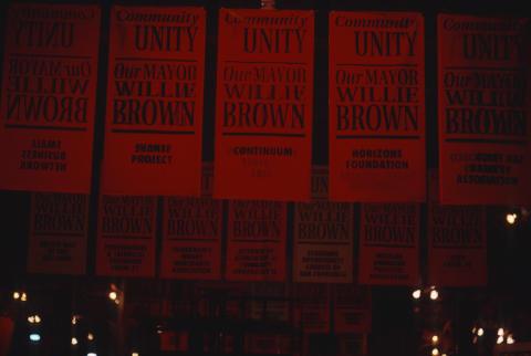 Willie Brown Inauguration Fine Art Print
