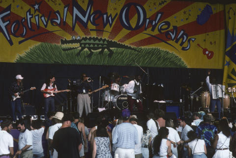 New Orleans by the Bay Music Festival Fine Art Print