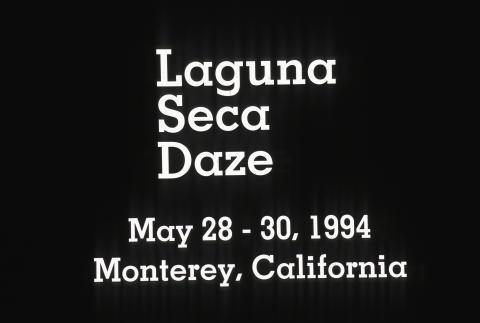 Laguna Seca Daze Fine Art Print