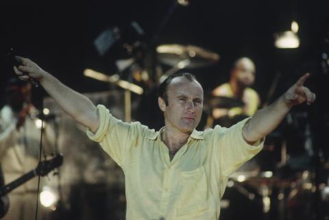 Phil Collins Fine Art Print