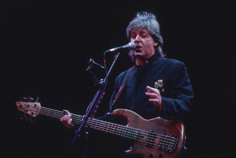 Paul McCartney Fine Art Print