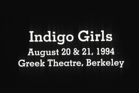 Indigo Girls Fine Art Print