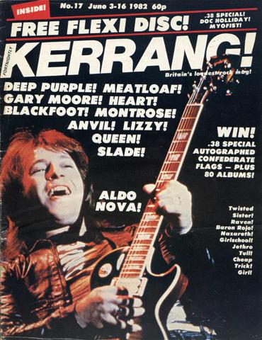Kerrang Magazine June 3, 1982