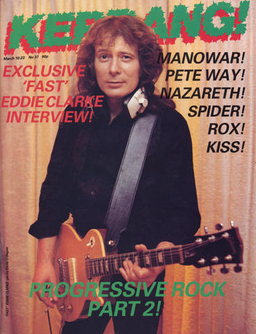 Kerrang Magazine March 10, 1983