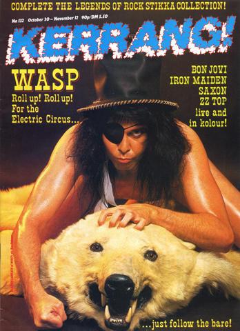 Kerrang Magazine October 30, 1986