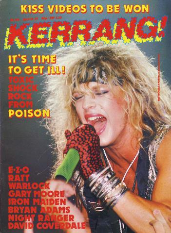 Kerrang Magazine April 16, 1987