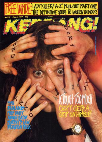 Kerrang Magazine May 6, 1989