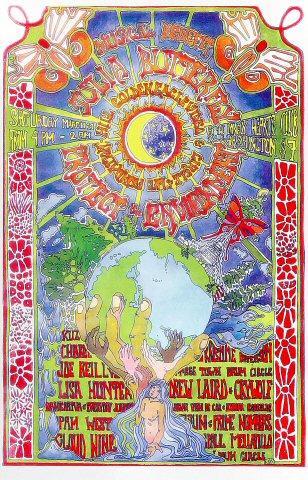 Julia Butterfly Benefit Concert Poster