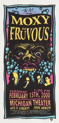 Moxy Fruvous Handbill