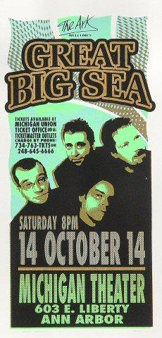 Great Big Sea Handbill