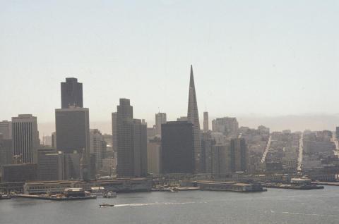 San Francisco Scenery Fine Art Print
