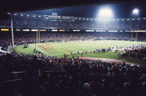 Football - 49ers V. Rams Fine Art Print