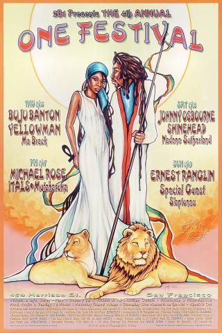 One Festival Poster