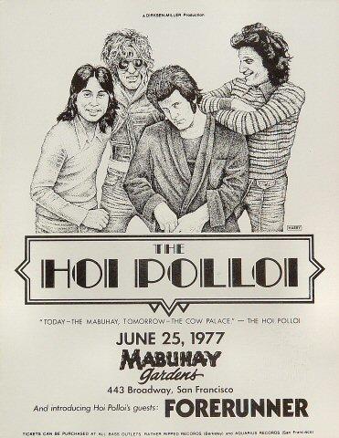 The Hoi Polloi Handbill