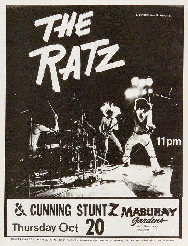 Ratz Handbill