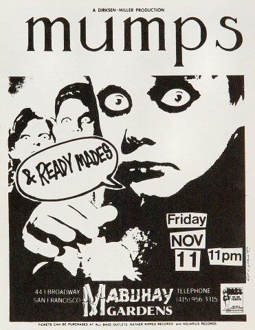 The Mumps Handbill