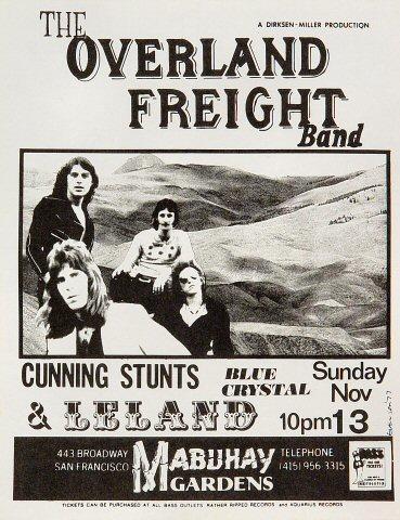 The Overland Freight Band Handbill