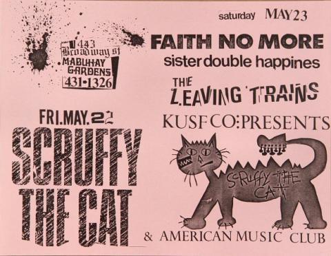 Scruffy the Cat Handbill
