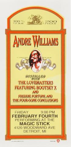 Andre Williams Handbill